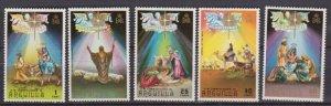 1972 Anguilla Scott 163-167 Christmas MNH