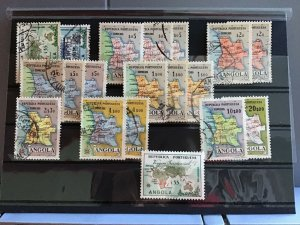 Angola Map  stamps  R25117