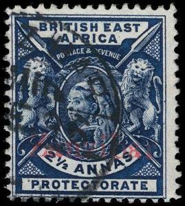 Zanzibar Scott 32-37 Gibbons 41-46 Used Set of Stamps