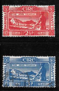 Ireland 133-134: Country and Homestead, used, F-VF