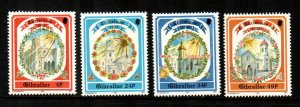 Gibraltar 1992 # Christmas set  MNH # 622-625