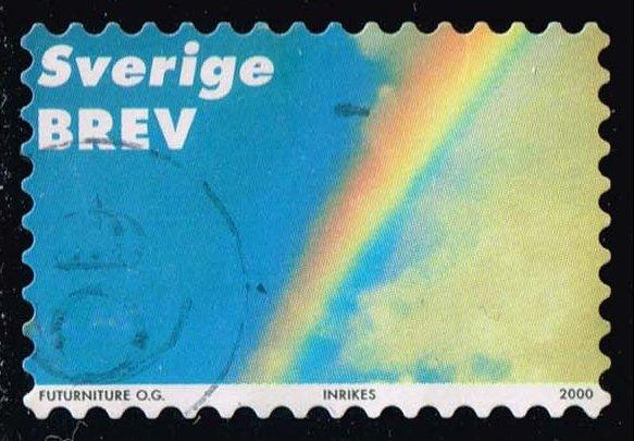 Sweden #2396e Rainbow; Used (1.25)