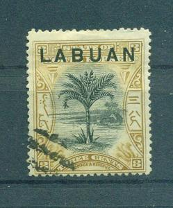 Labuan sc# 75 postally used cat value $8.00