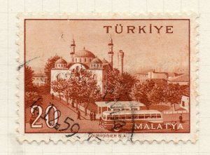 Turkey 1958-60 Early Issue Fine Used 20p. NW-17402