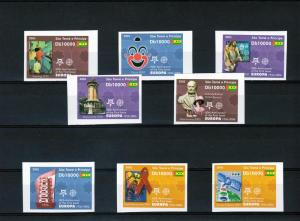 Sao Tome & Principe 2005 EUROPA CEPT 50th.Anniversary set Imperforated Mint (NH)