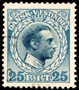Danish West Indies Scott 55 Used.