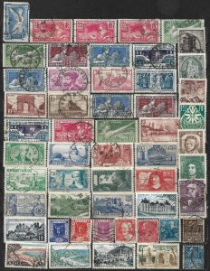 COLLECTION LOT OF 50 FRANCE 1924+ STAMPS CLEARANCE