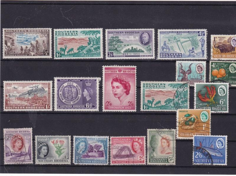 southern rhodesia stamps ref 10434