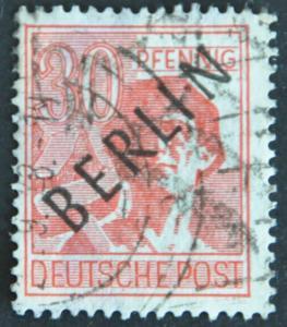 DYNAMITE Stamps: Germany Scott #9N11  – USED