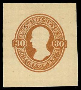 U.S. CUT SQUARES U340  Mint (ID # 71498)