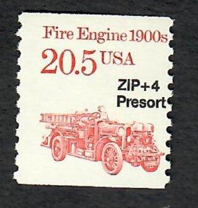 2264 Fire Engine F-VF MNH transportation coil single