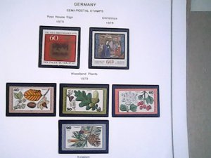 1979-80  Germany  Semi-Postal  MNH  full page auction