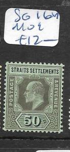 MALAYA STRAITS SETTLEMENTS  (P1206B)  KE50C  SG 164   MOG