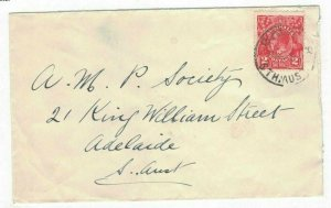 APH1434) Australia 2d Red KGV Die III Small Cover