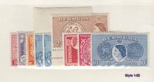 BERMUDA # 143-161 VF-MLH CAT VALUE $75
