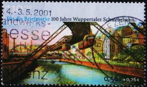 Germany. 2001 110pf+50pf S.G.3045 Fine Used