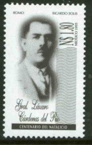 MEXICO 1920, PRESIDENT LAZARO CARDENAS. MNH. VF. (69)