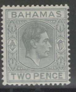 BAHAMAS SG152 1938 2d PALE SLATE MTD MINT