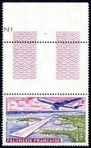 French Polynesia C28, MNH. Airport, Papeete, 1960