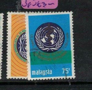 Malaysia Un SG 103-4 VFU (4exa)