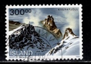 Iceland -  #737 Kverkjoll - Used