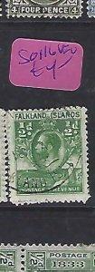 FALKLAND ISLANDS  (PP2210B)  PENGUIN  KGV 1/2D  SG 116  VFU