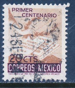MEXICO 888 20c Centenary of the National Anthem. Used. (307)