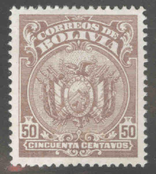 Bolivia Scott 172 MH* coat of arms stamp