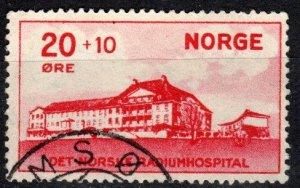 Norway #B4  F-VF Used  CV $10.00  (X3526)
