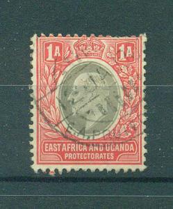 East Africa & Uganda Protectorate sc# 18 used cat val $1.00