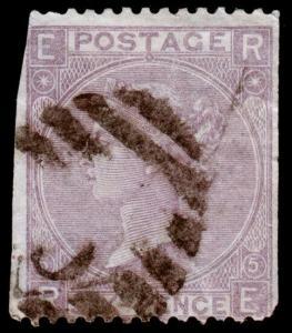 Great Britain Scott 45 (1865) Used G, CV $100.00 C