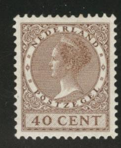 Netherlands Scott 191 MH* 1926 watermarked stamp CV$10