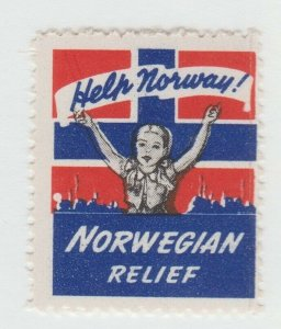 Norway Charity Revenue Fiscal Stamp 8-5-  MNH GUM - NICE
