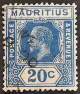 DYNAMITE Stamps: Mauritius Scott #193 – USED