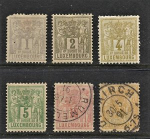 STAMP STATION PERTH Luxembourg #6 Early Stamps Mint / Used - Unchecked
