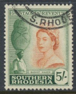 Southern Rhodesia  SG 89  SC# 92  Basket Maker Used / FU    see scans