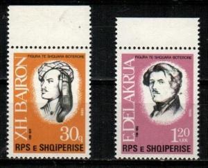 Albania Scott 2266-7 Mint NH (Catalog Value $33.00)