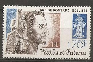 Wallis and Futuna Islands 329 1985 de Ronsard NH