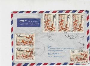 Brasil 1971 Airmail Centenary of Opera O Guarani Multi Stamps Cover Ref 29052