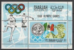 Sharjah #MI376  MNH    (S6981)