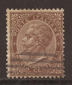 Italy  # 30   used