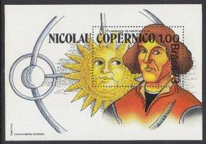 Brazil 1301 Copernicus SS mnh