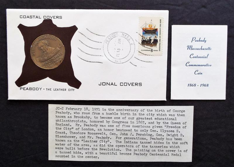 US SPECIAL EVENT COVER WITH COMMEMORATIVE COIN