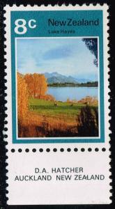 New Zealand #508 Lake Hayes; Unused (1.50)