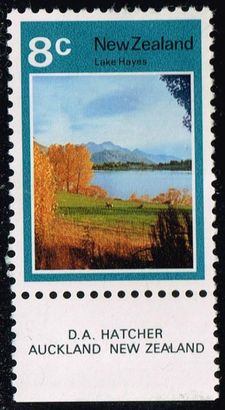New Zealand #508 Lake Hayes; Unused (1.50)