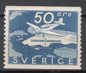 Sweden - 1936 Airoplane Sc# 263 - MNH (7445)