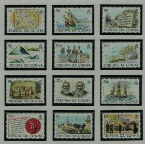 Tristan da Cunha: 1983, Island History, MNH set