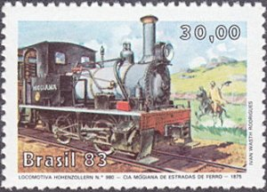 Brazil # 1862 mnh ~ 30cr Locomotive Ð Hohenzollern 980