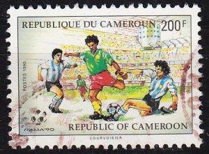 KAMERUN CAMEROON [1990] MiNr 1160 ( O/used ) Fussball