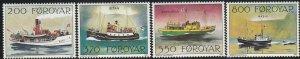 Faroe Islands, #232-235 Unused   From 1992